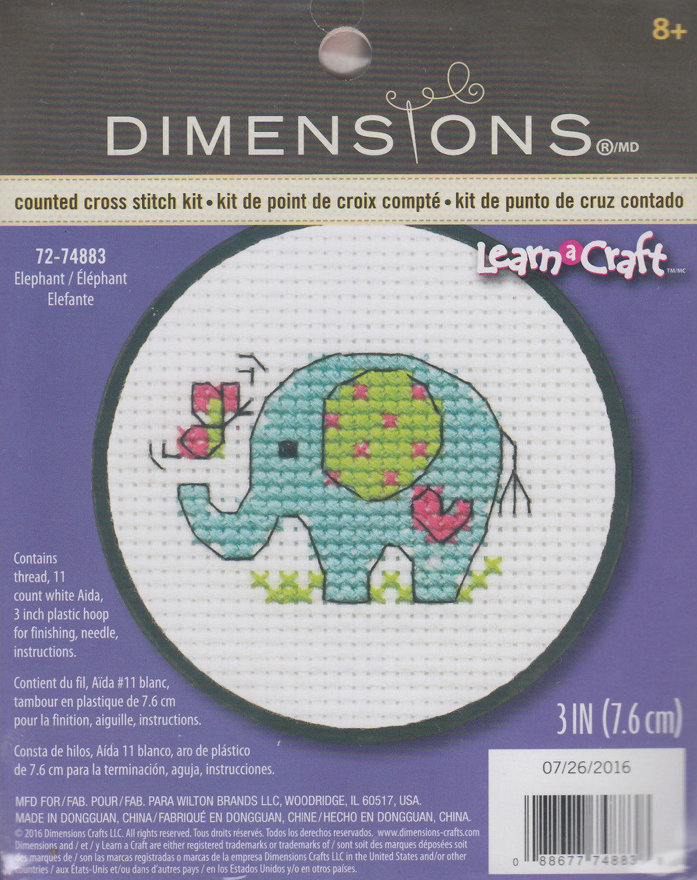 Dimensions Learn a Craft - Elephant