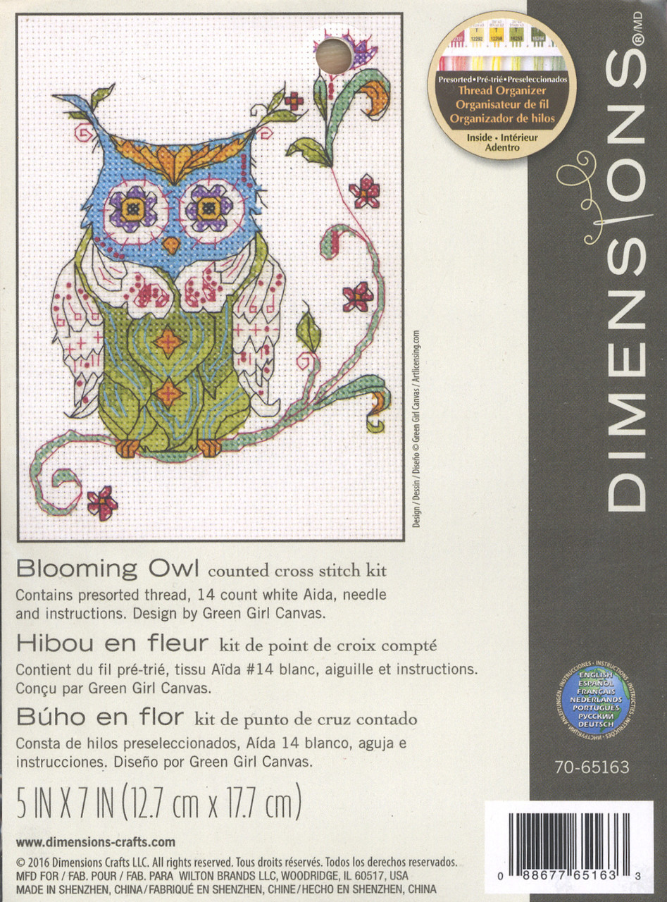 Dimensions Mini Kit - Blooming Owl
