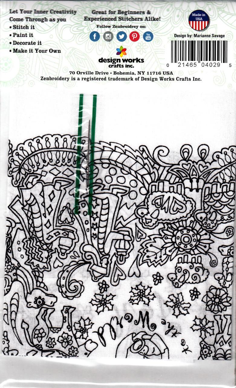 Design Works - Zenbroidery - Christmas Nativity
