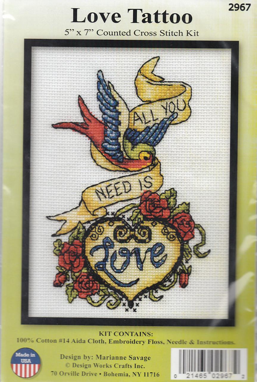 Design Works - Love Tattoo
