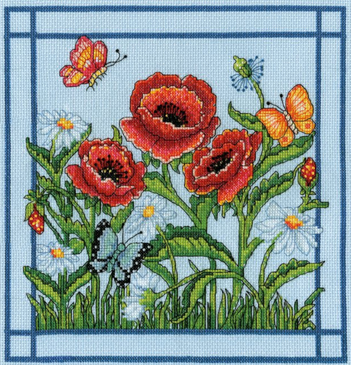 Design Works - Poppies