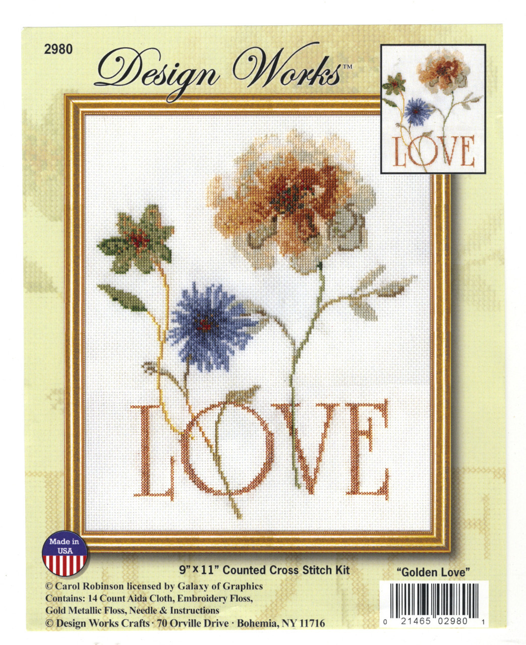 Design Works - Golden Love