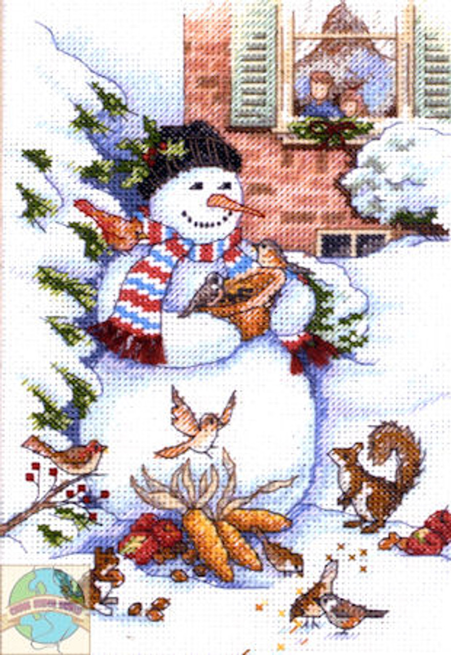 Gold Collection Petites - Snowman and Friends