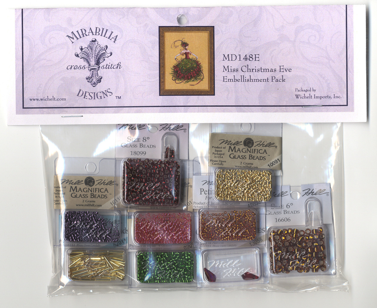 Mirabilia Embellishment Pack - Miss Christmas Eve