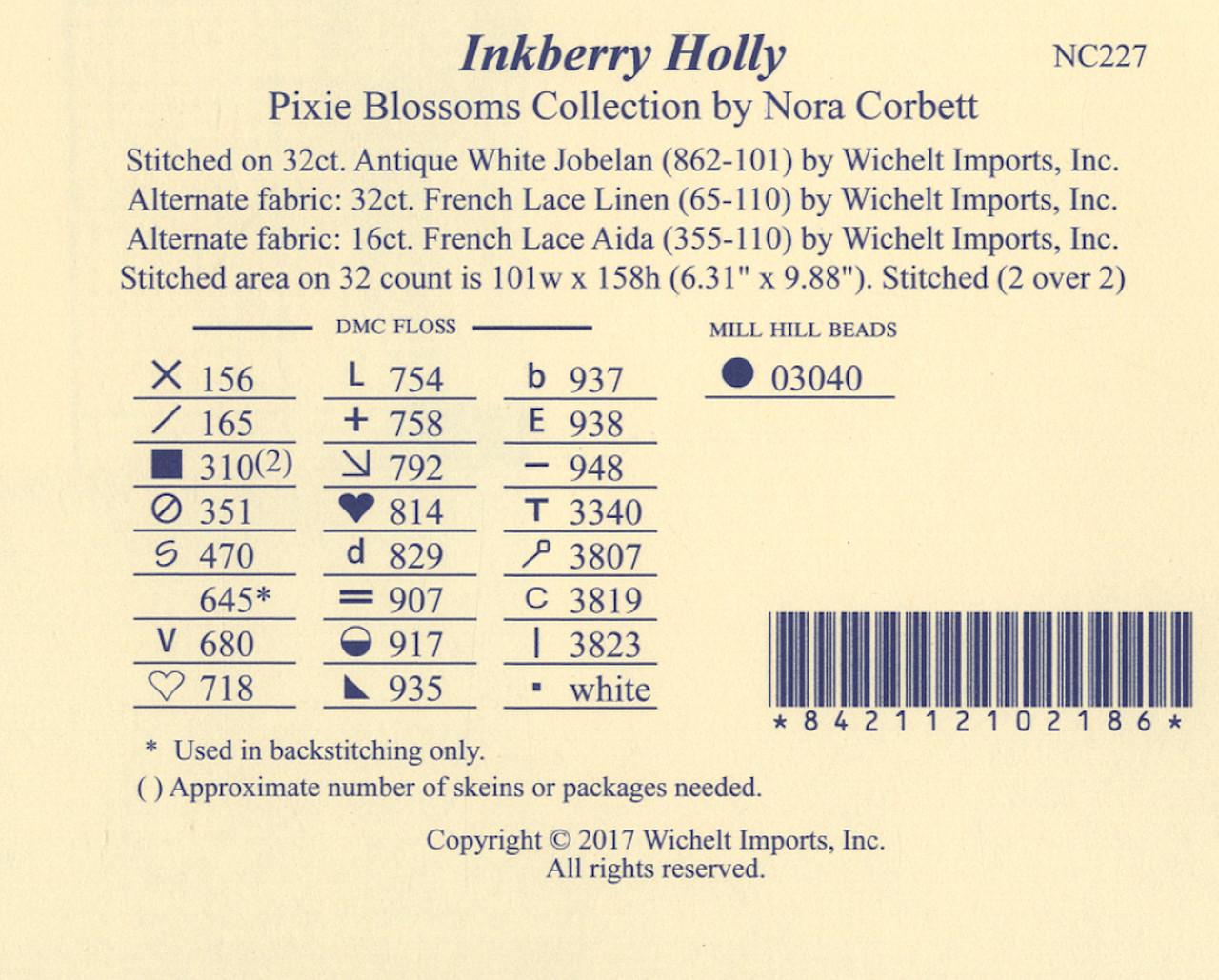 Nora Corbett - Inkberry Holly
