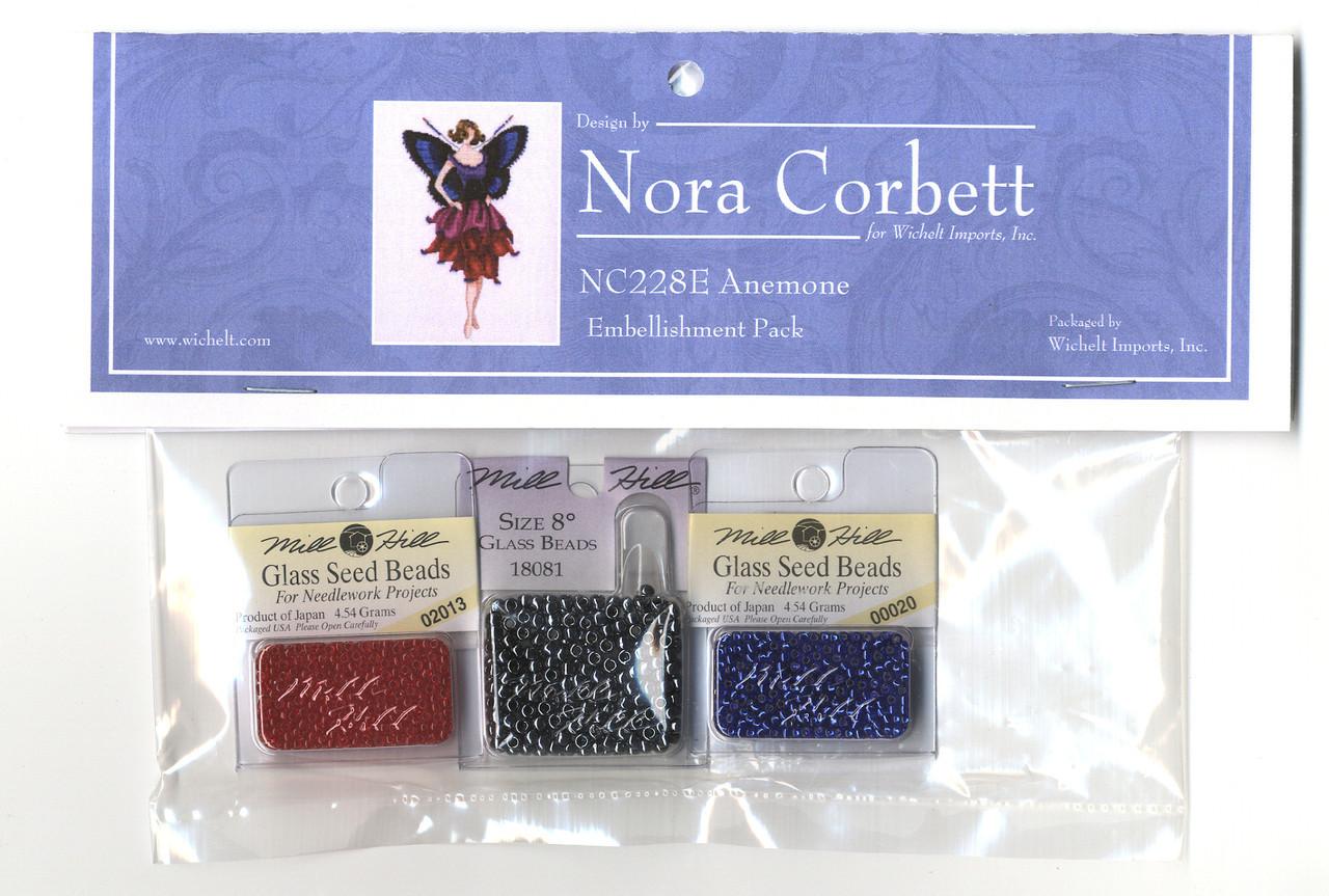 Nora Corbett Embellishment Pack - Anemone