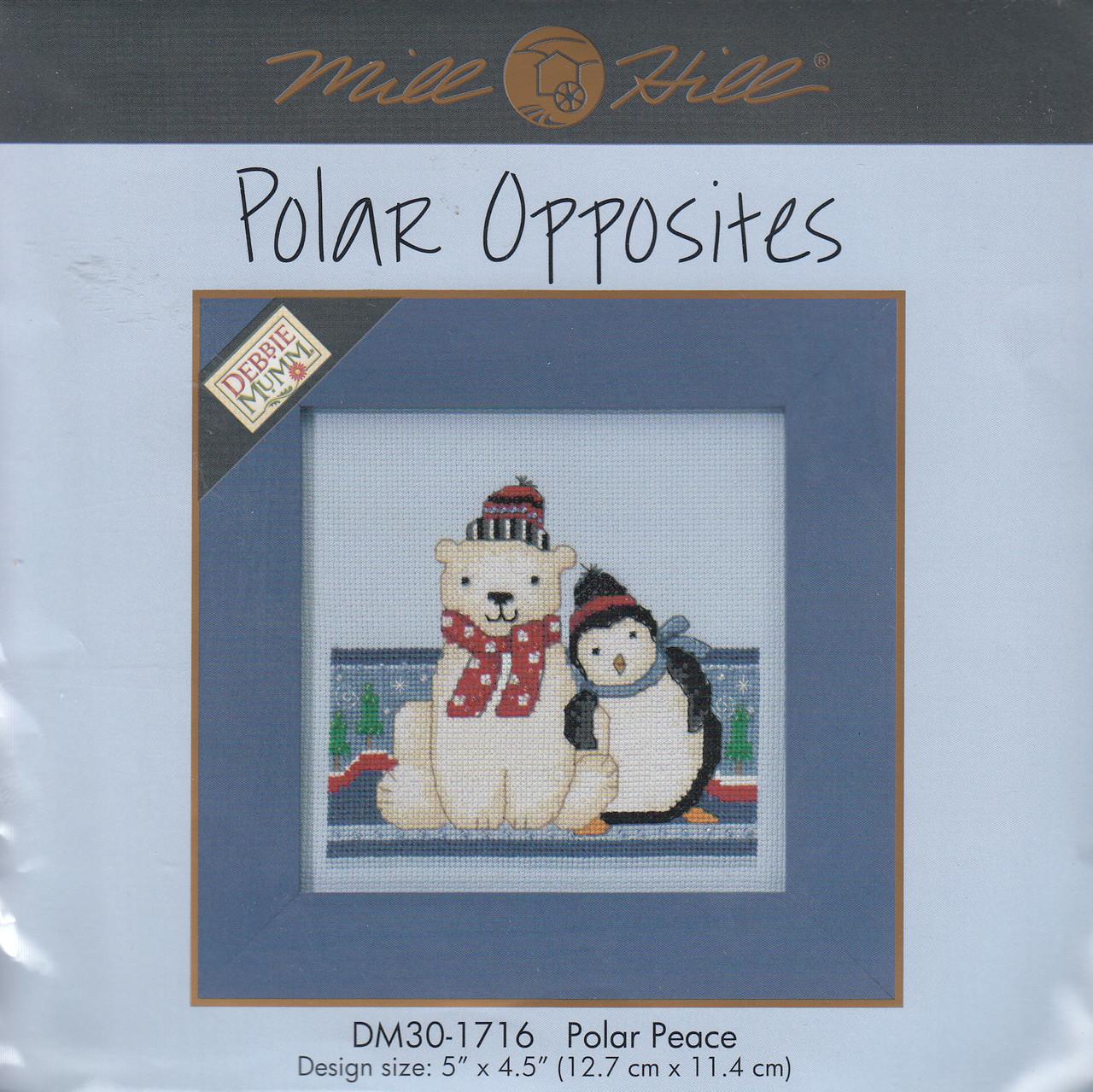Mill Hill 2017 Debbie Mumm Polar Opposites - Polar Peace