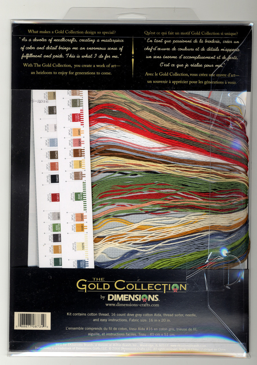 Gold Collection - Candy Cane Santa