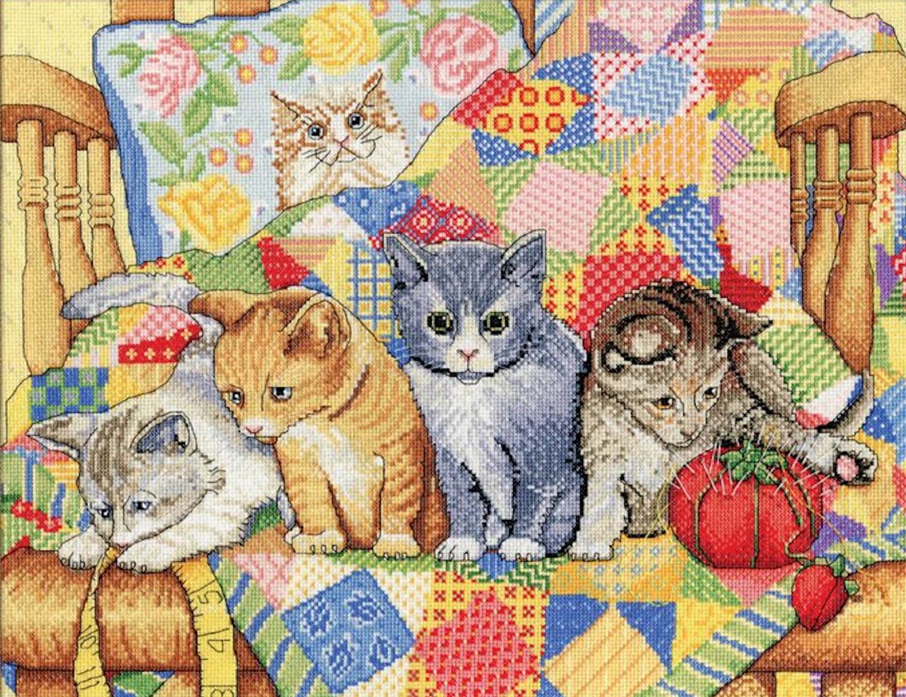 Design Works Rocking Chair Kittens