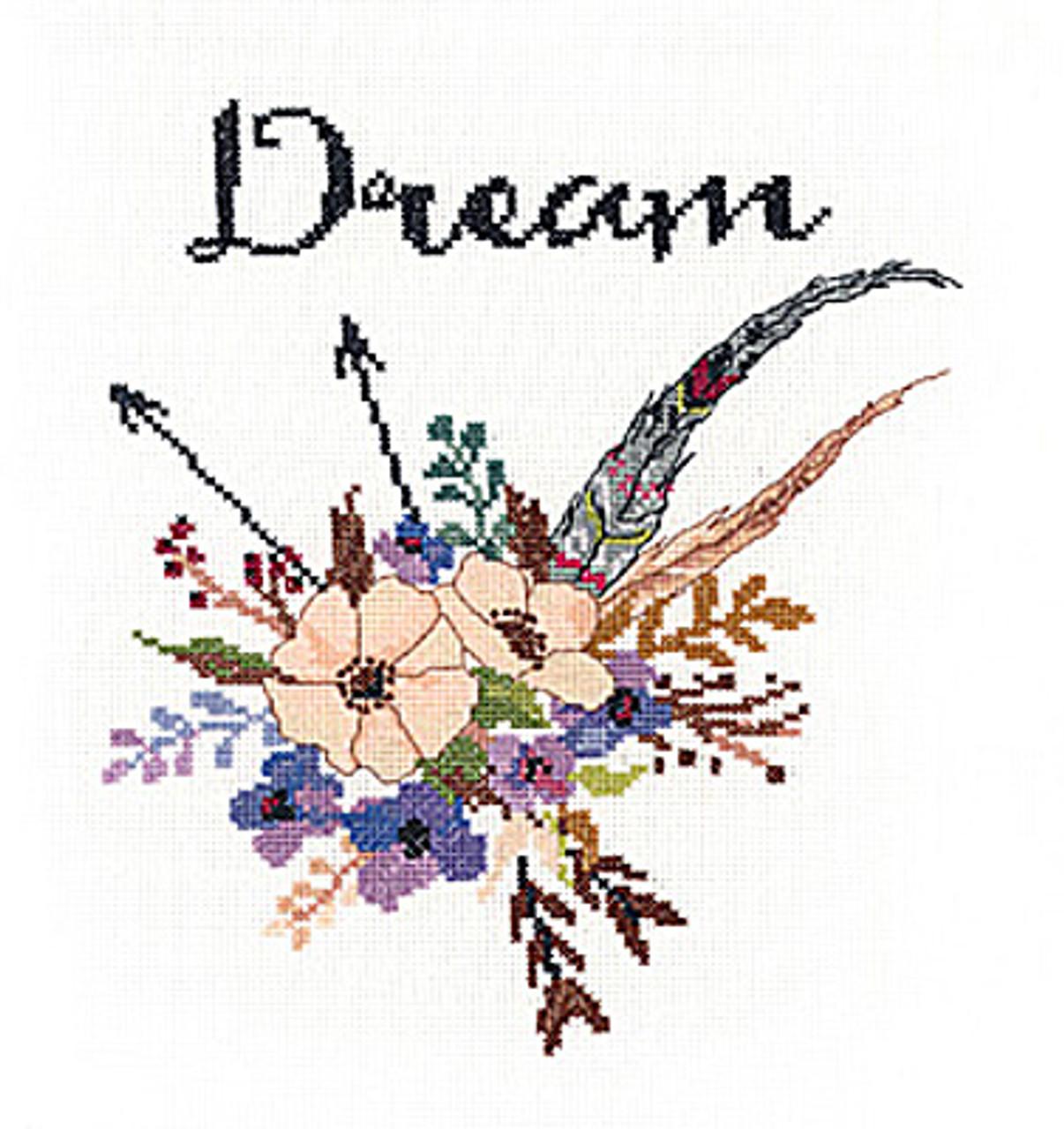 Janlynn - Watercolor Flowers Dream