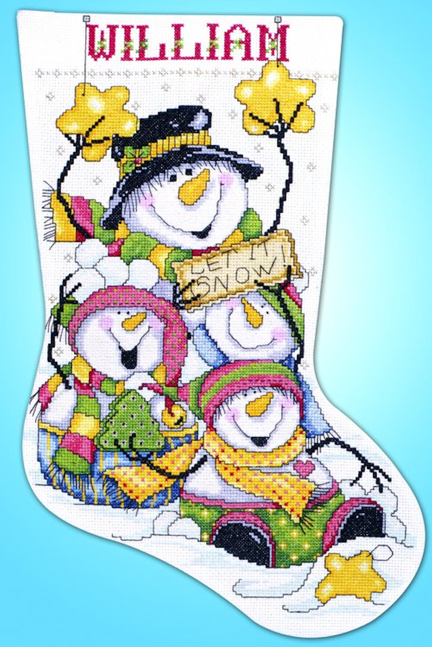 Design Works - Let it Snow Stocking