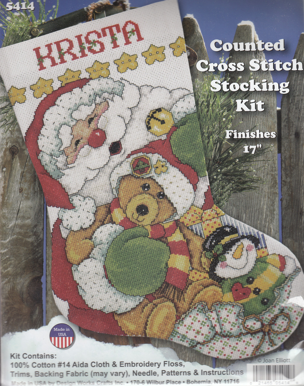 Design Works - Santa and Friends Stocking