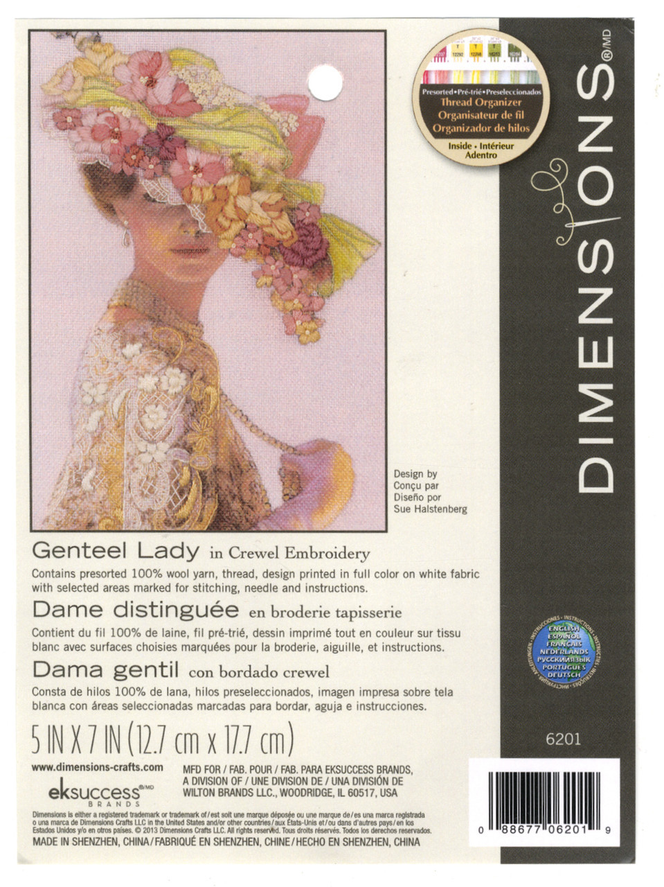 Dimensions Minis - Genteel Lady