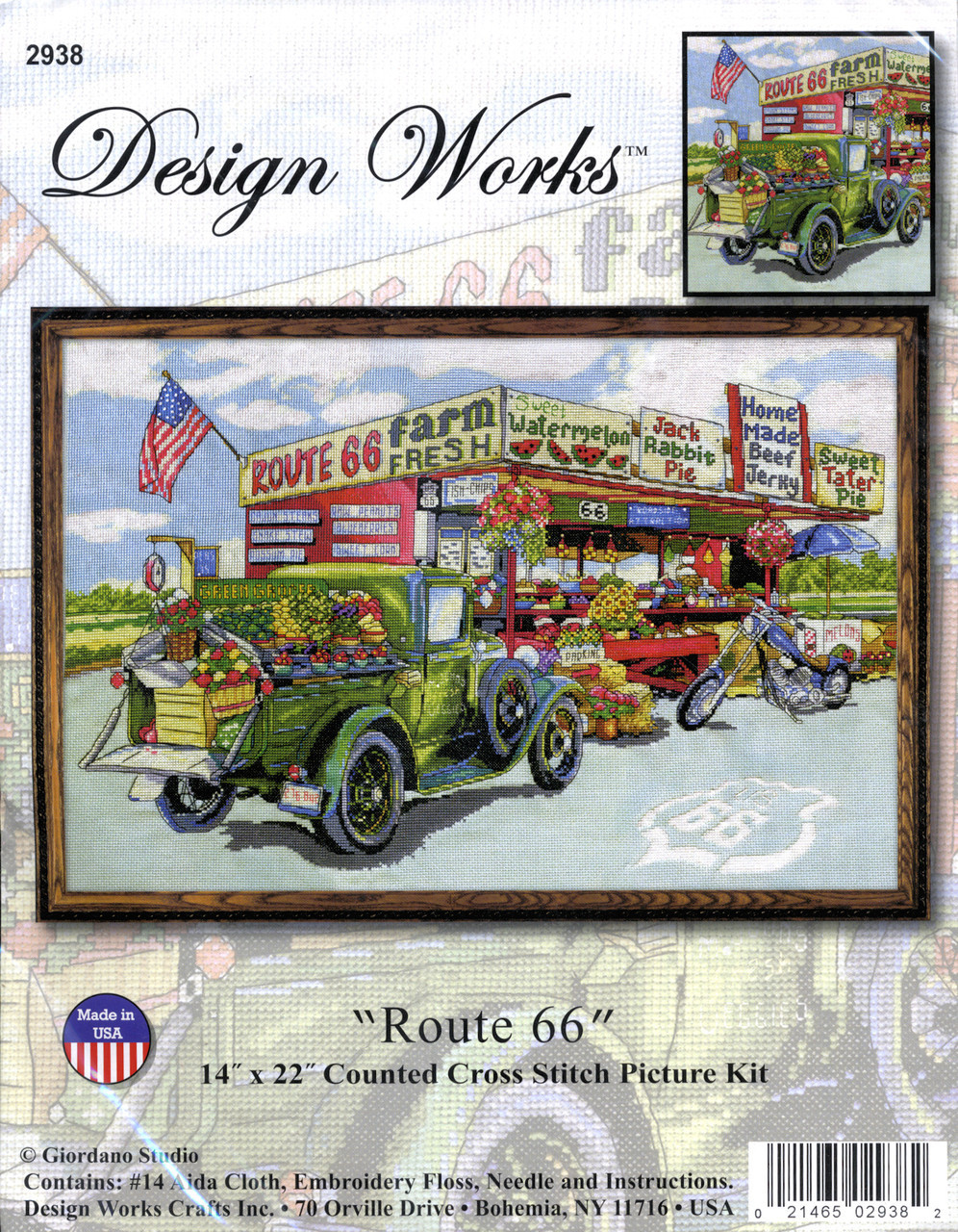 "Design Works - ""Route 66"""