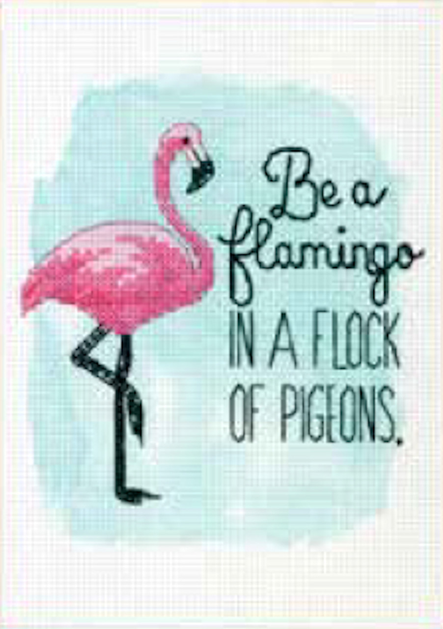Dimensions - Be a Flamingo