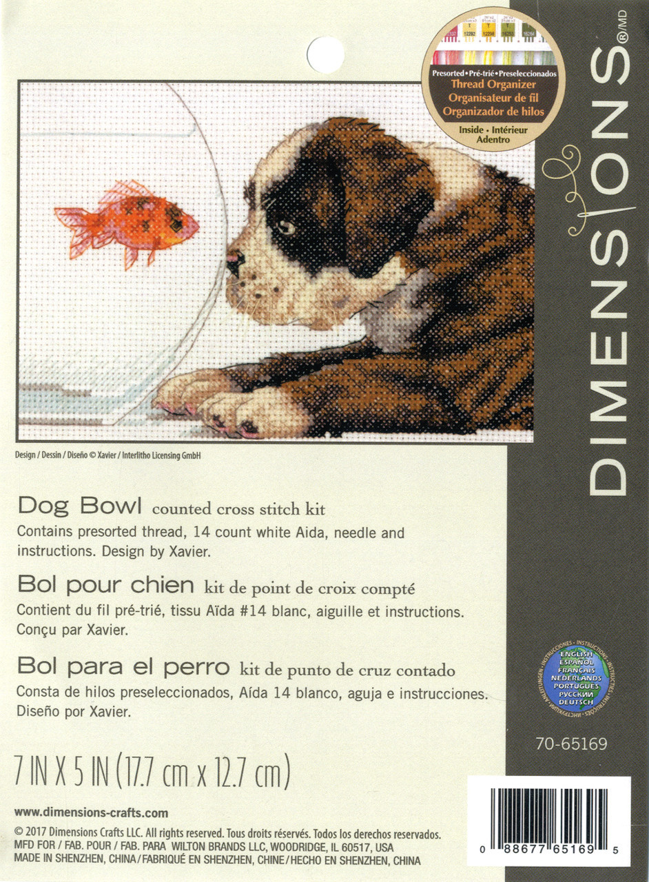 Dimensions - Dog Bowl