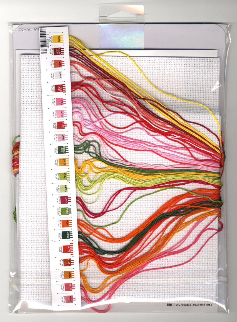 Dimensions - Poppy Pattern