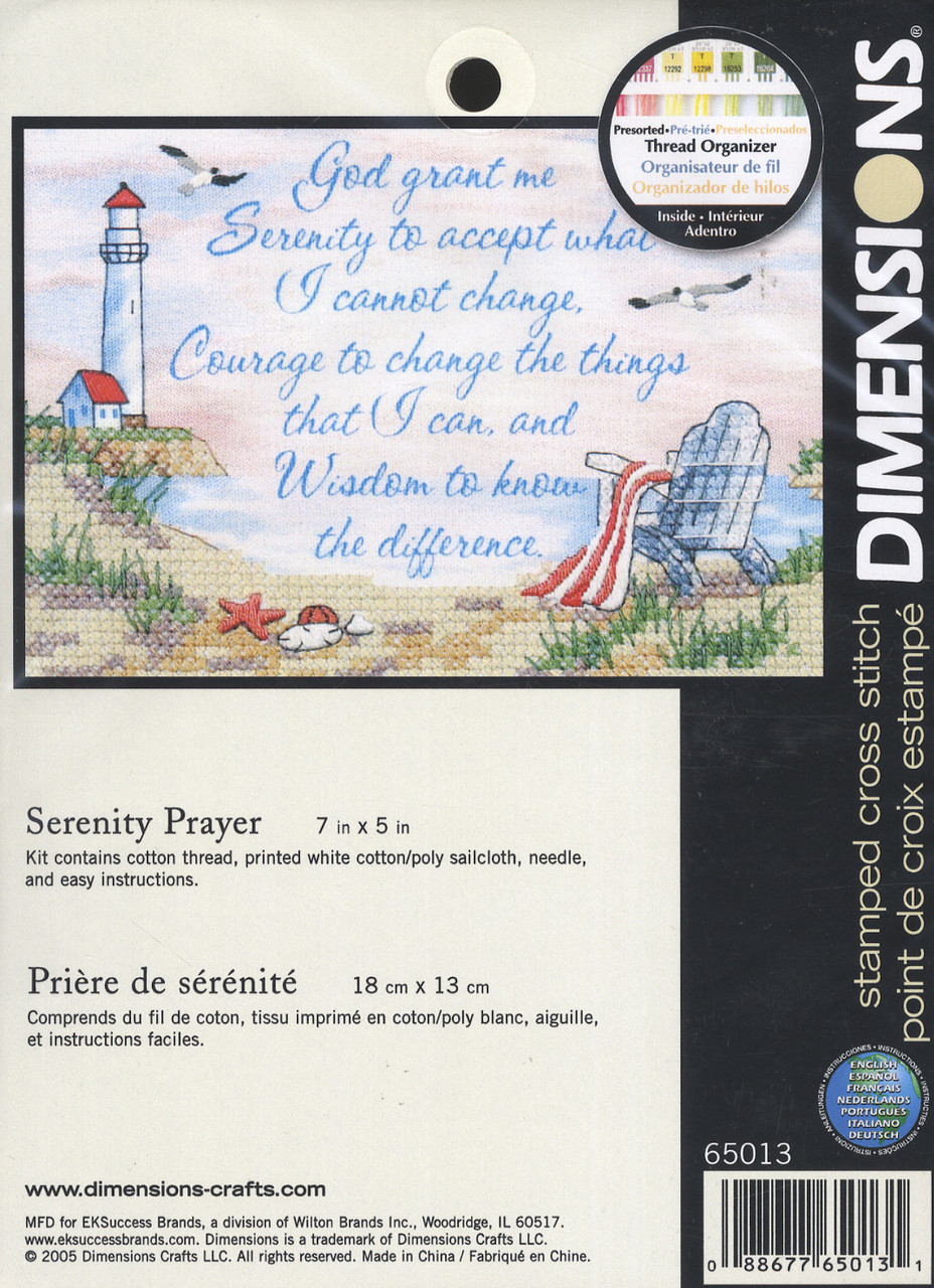 Dimensions Minis - Serenity Prayer