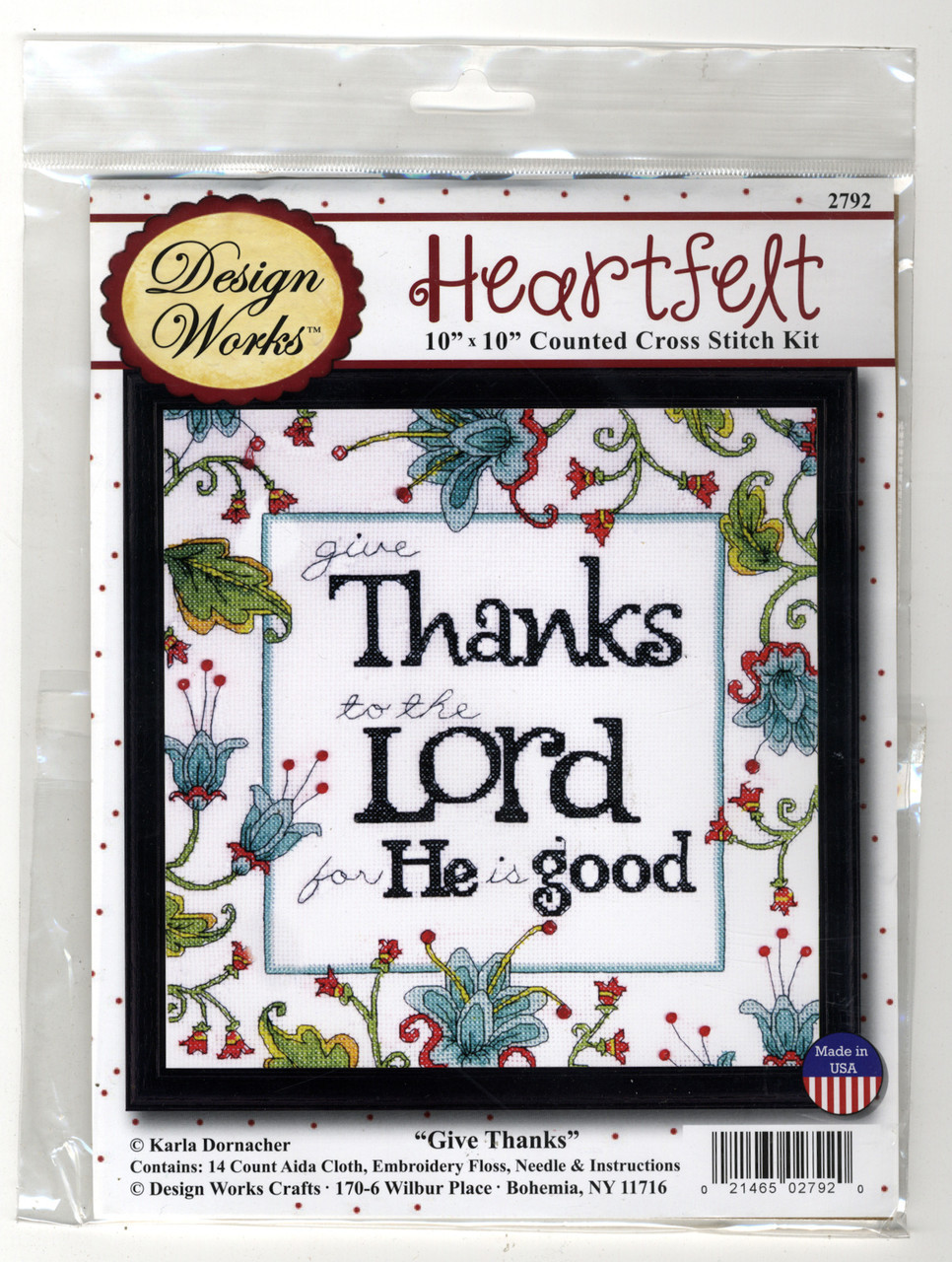 Design Works - Give Thanks to the Lord