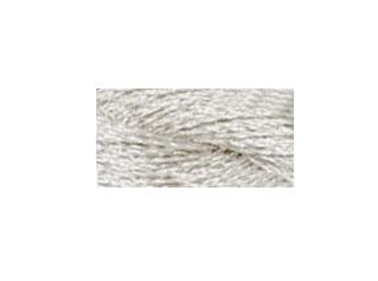 DMC Silver Metallic Pearl Cotton Skein Size 5 27.3yd #5283