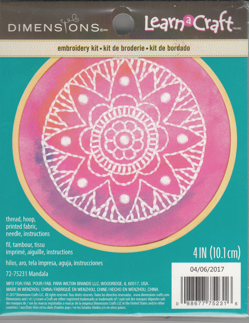 Dimensions Learn a Craft - Mandala