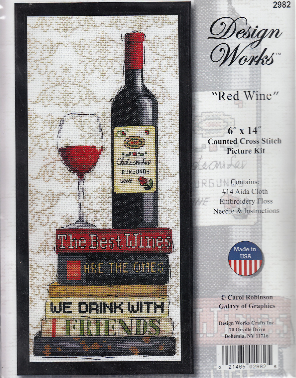 Design Works - Red Wine