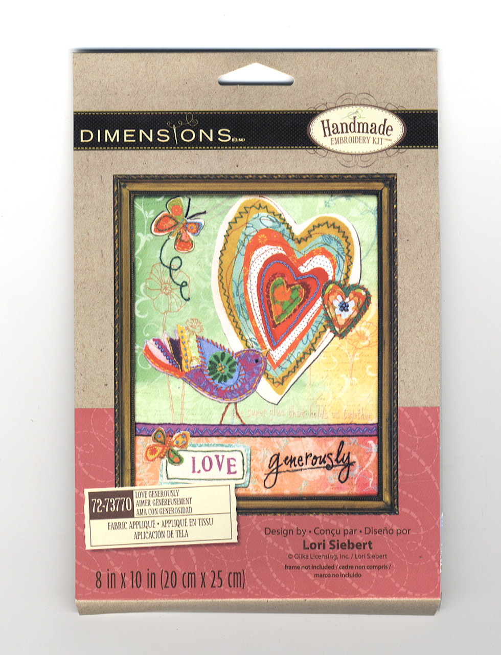 Dimensions -  Love Generously