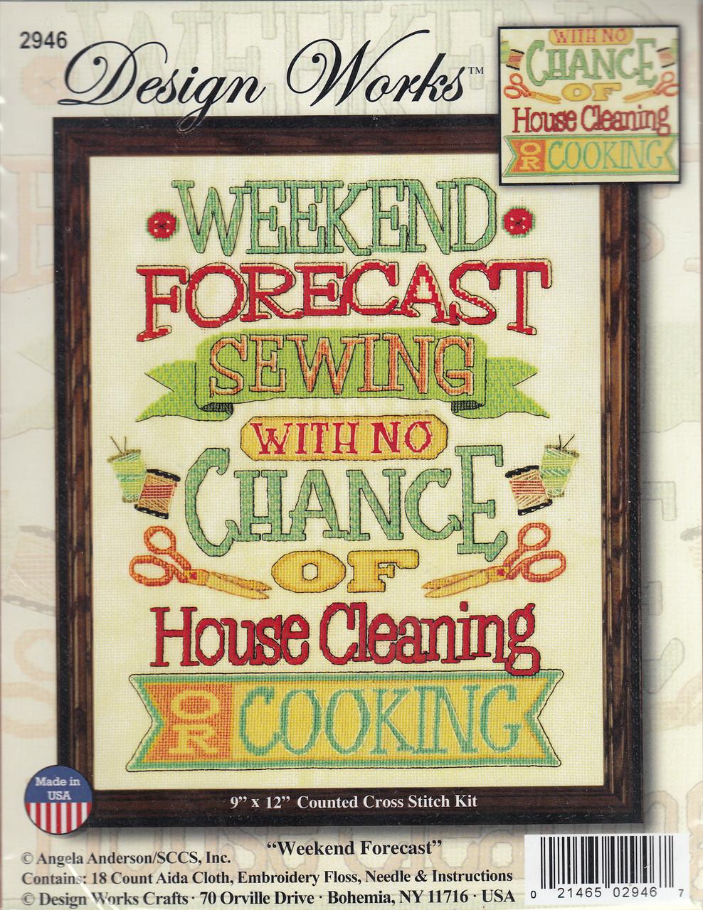 Design Works - Weekend Forcast