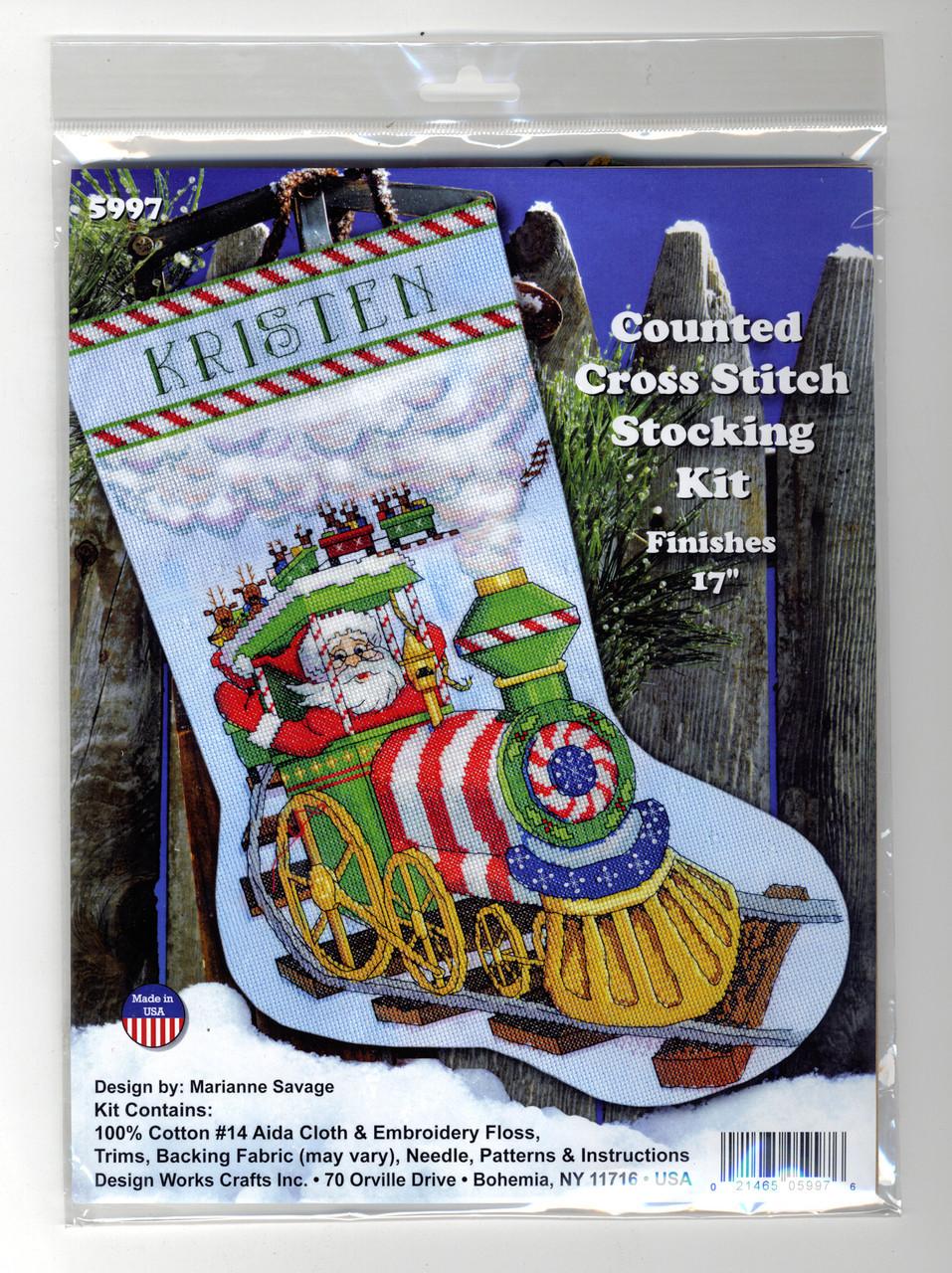 Design Works - Santa's Train Stocking