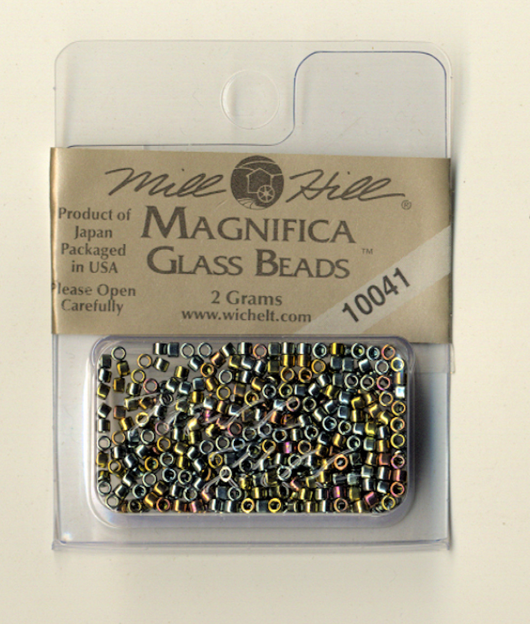 Mill Hill Magnifica Glass Beads 2g - Abalone  #10041