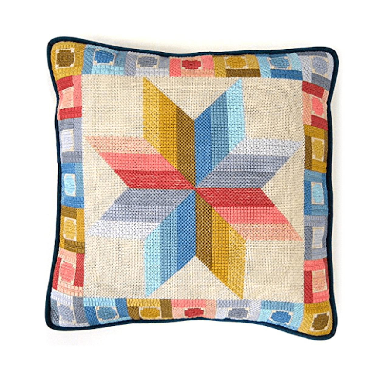 Candamar - Quilted Star (Picture or Pillow)