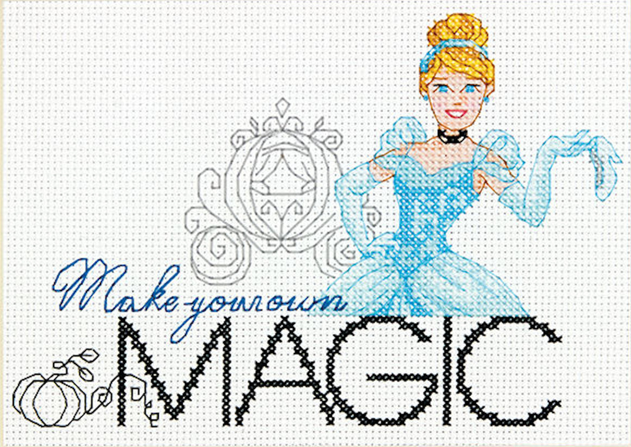 Dimensions - Disney Princess Cinderella - Make Your Own Magic