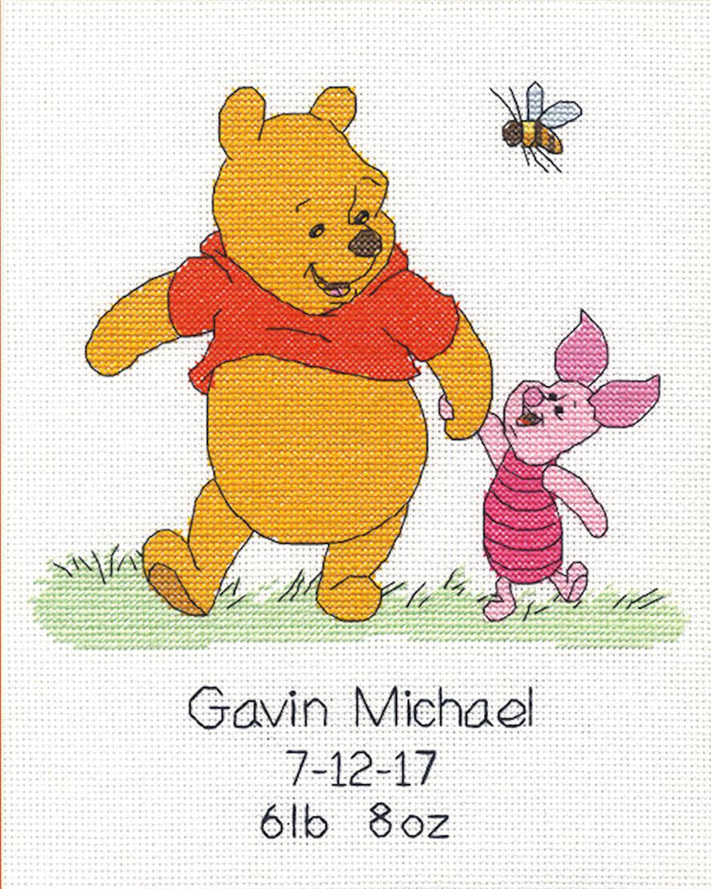 Winnie the Pooh Alphabet Sampler