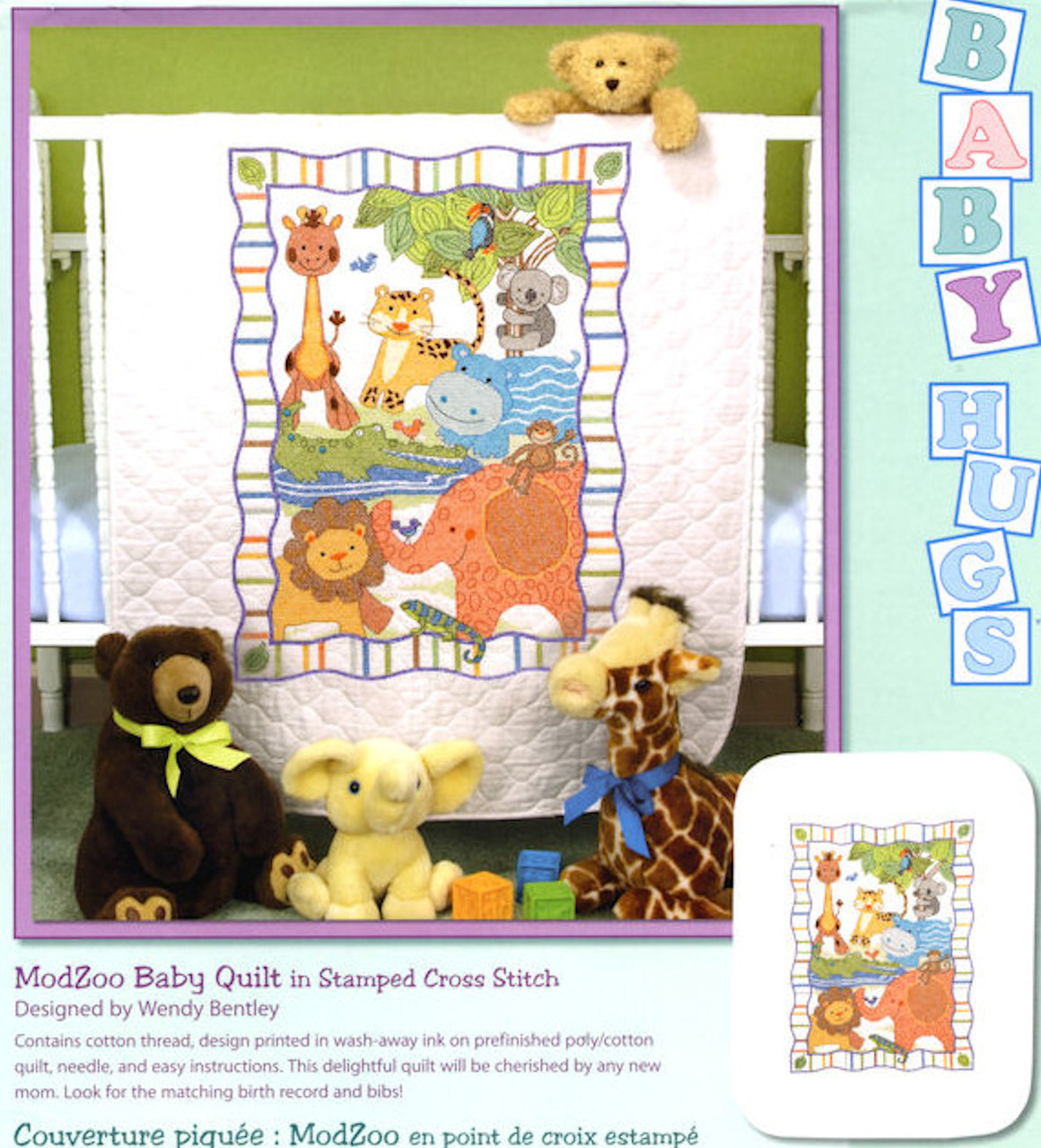 Dimensions Baby Hugs - ModZoo Baby Quilt