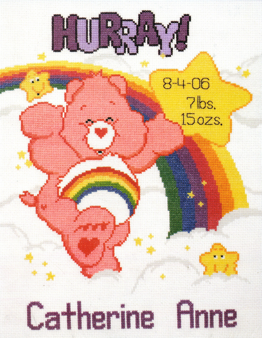 Candamar / Care Bears - Sweet Dreams Birth Announcement