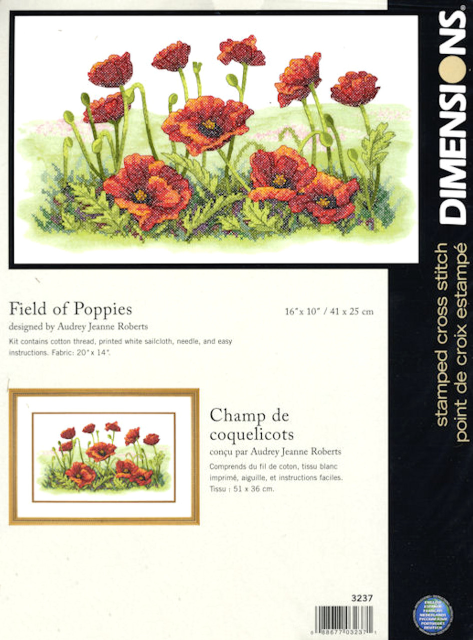 Dimensions - Field of Poppies