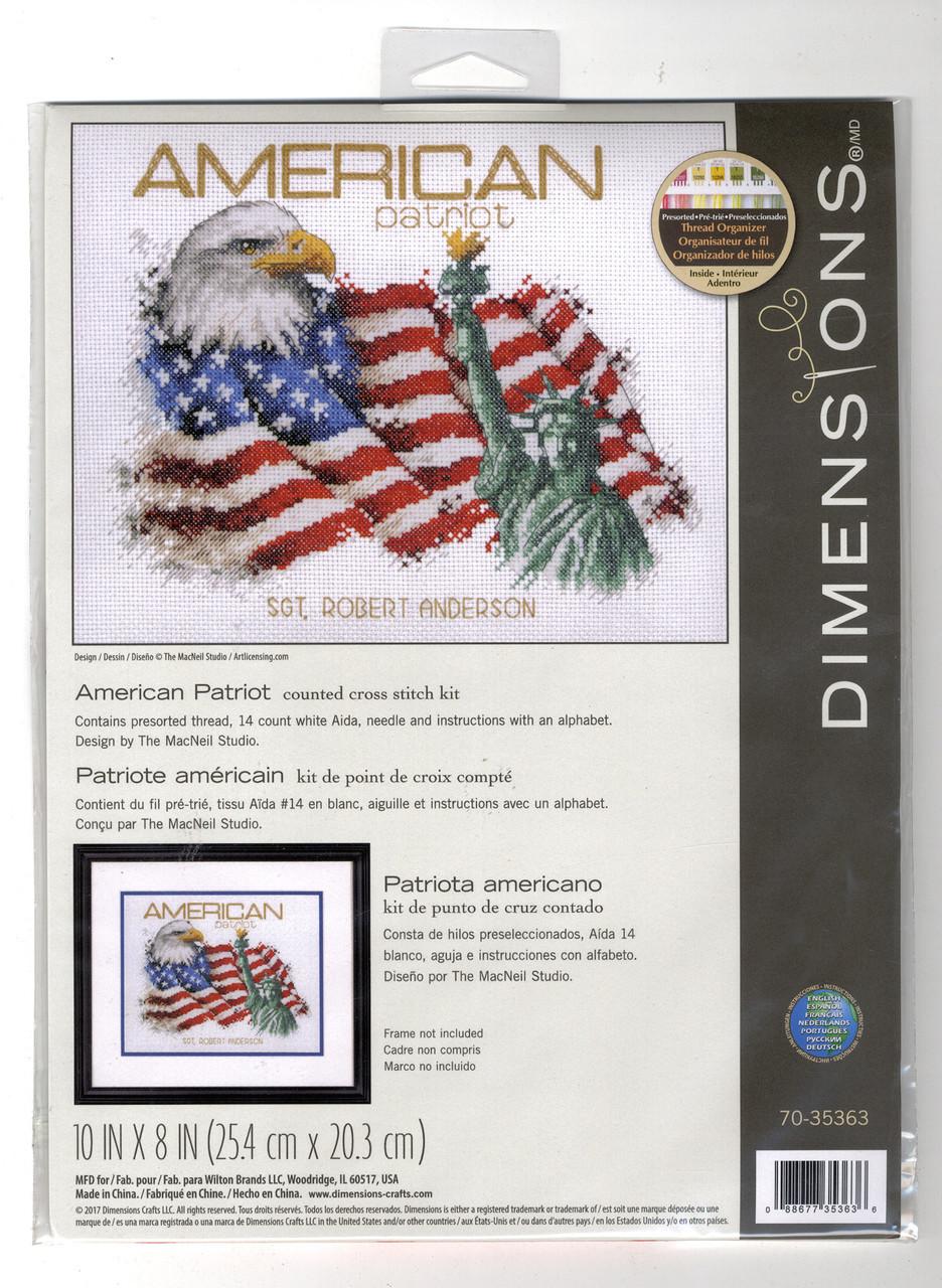 Dimensions - American Patroit