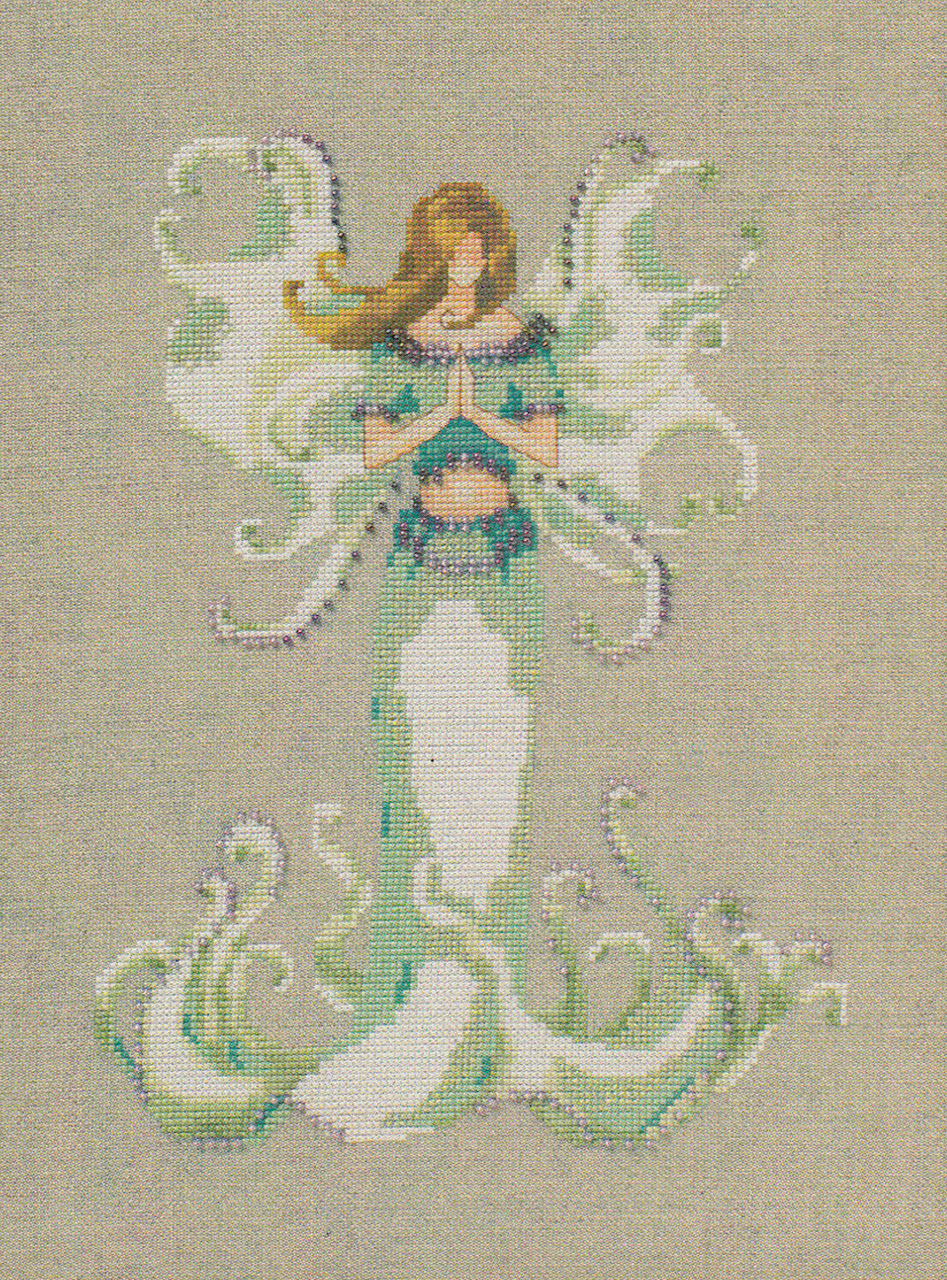 Nora Corbett Embellishment Pack - Angel White Trumpet