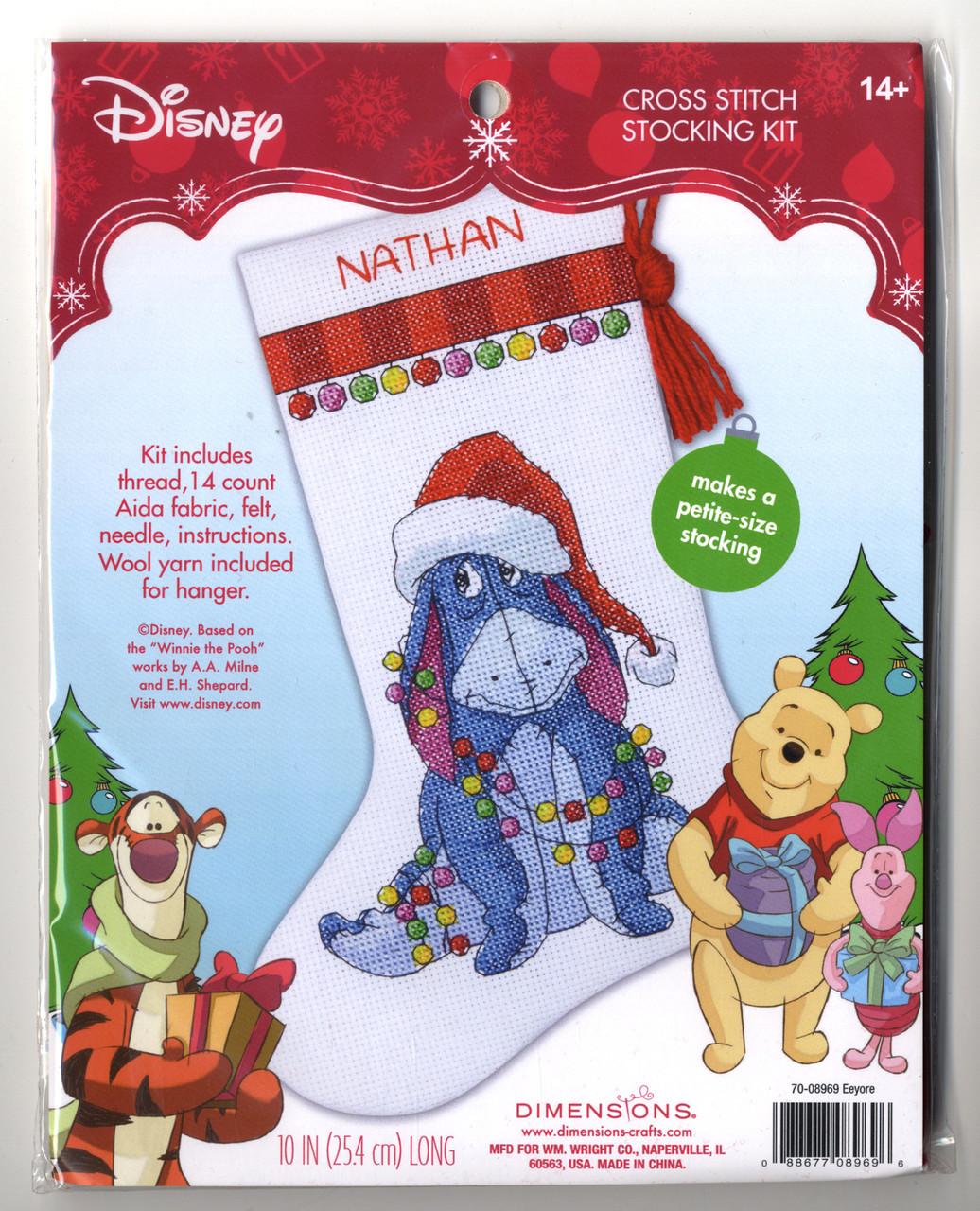 Disney - Eeyore Petite Size Stocking