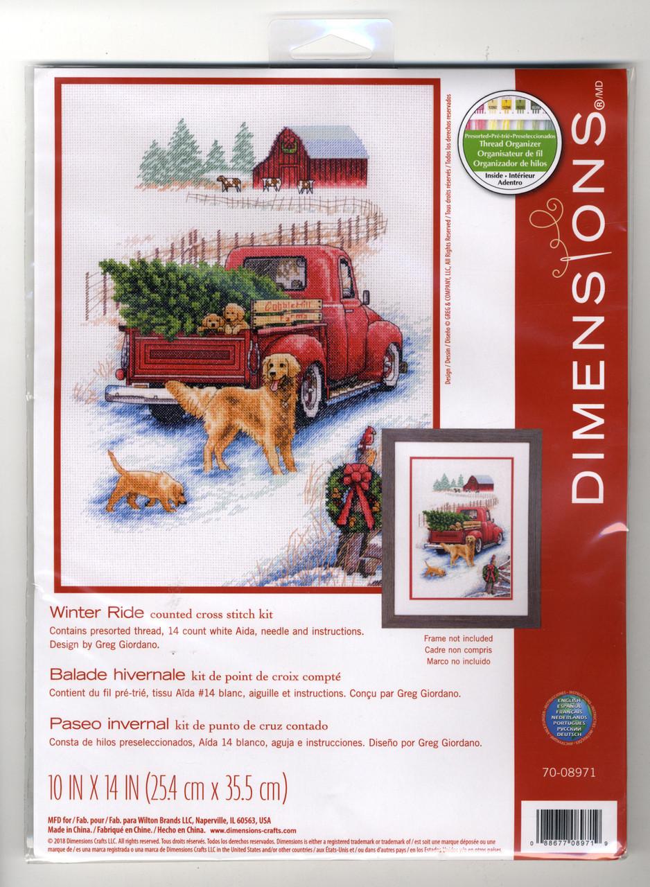 Dimensions -  Winter Ride