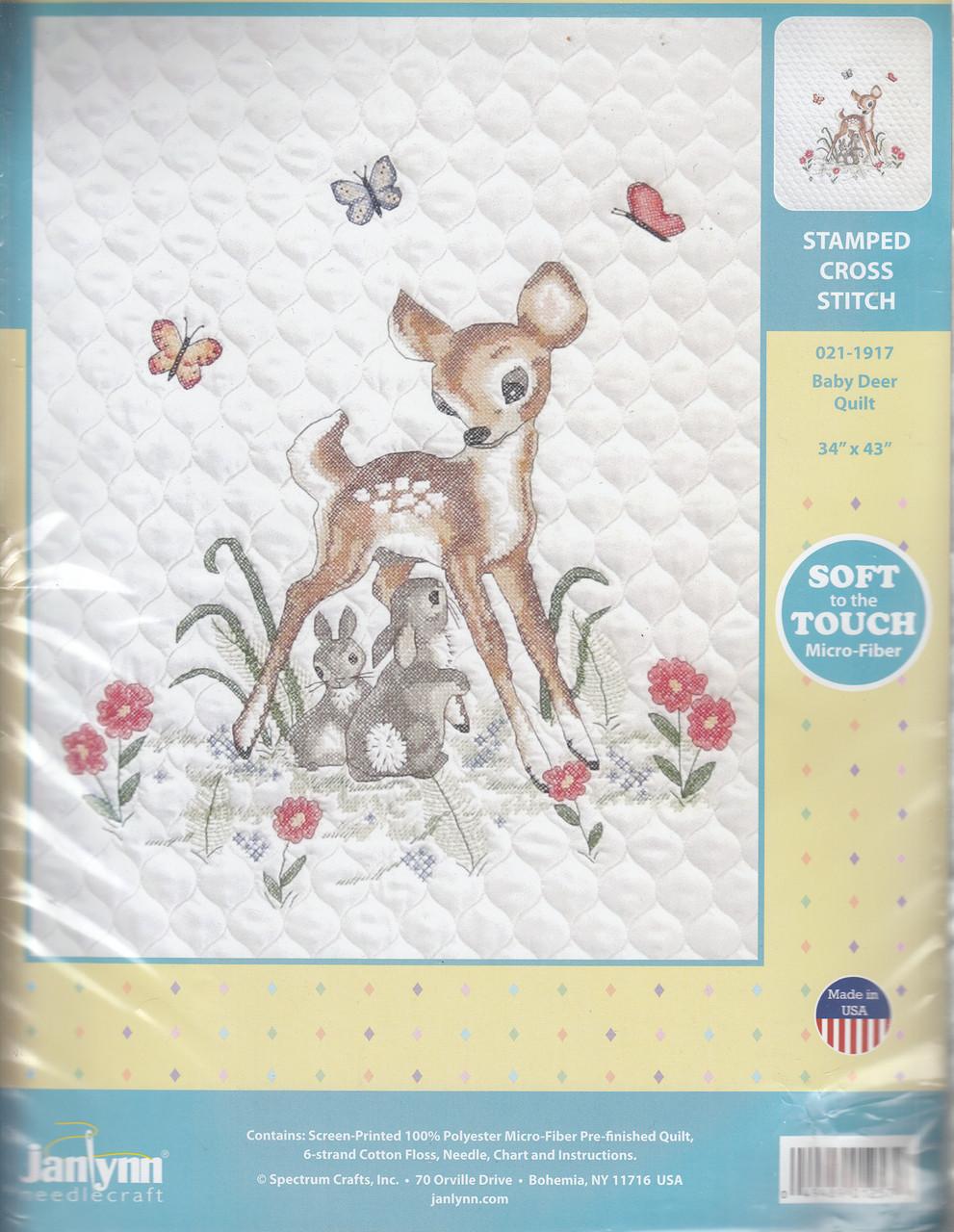 Janlynn - Baby Deer Quilt