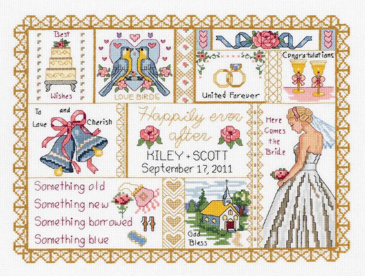 Janlynn Needlecrafts - Wedding Collage