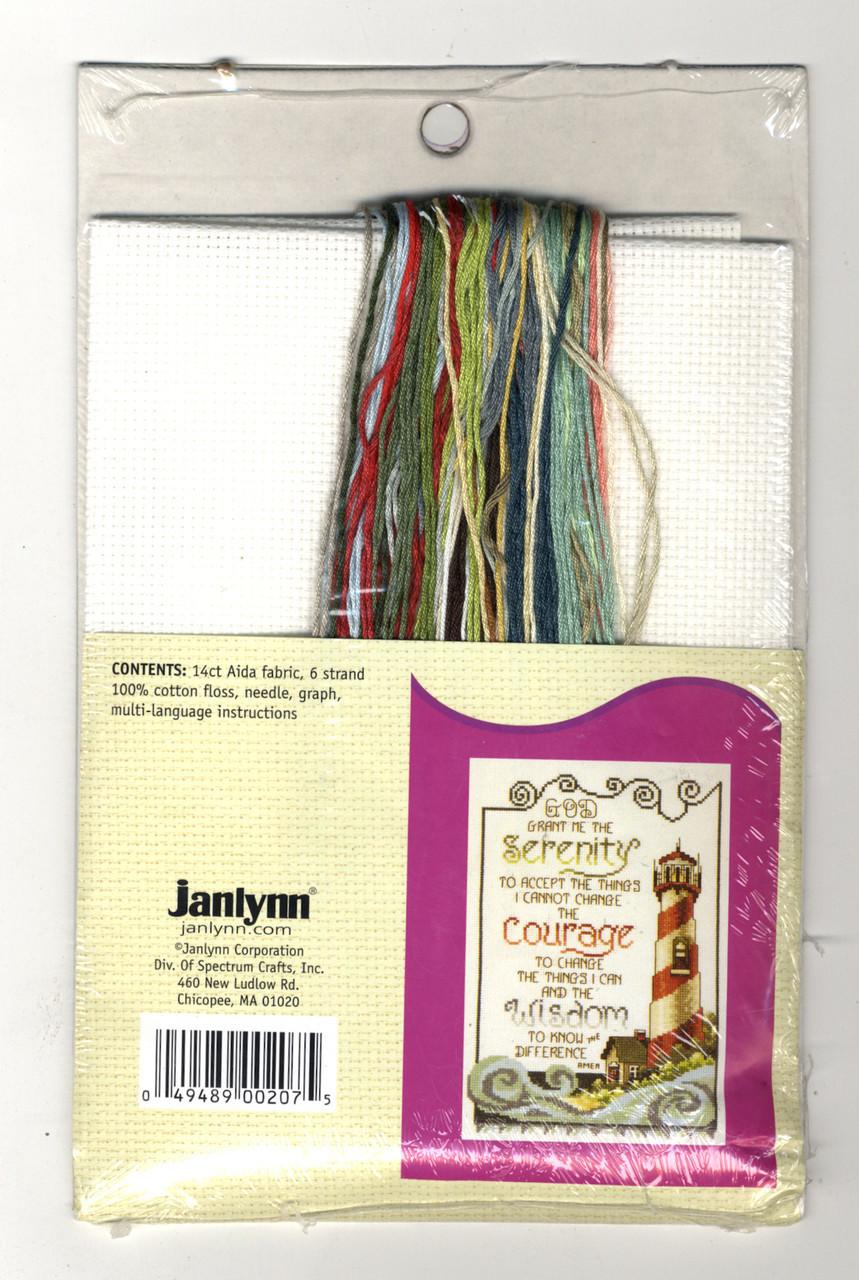 Janlynn Needlecrafts - Serenity Lighthouse