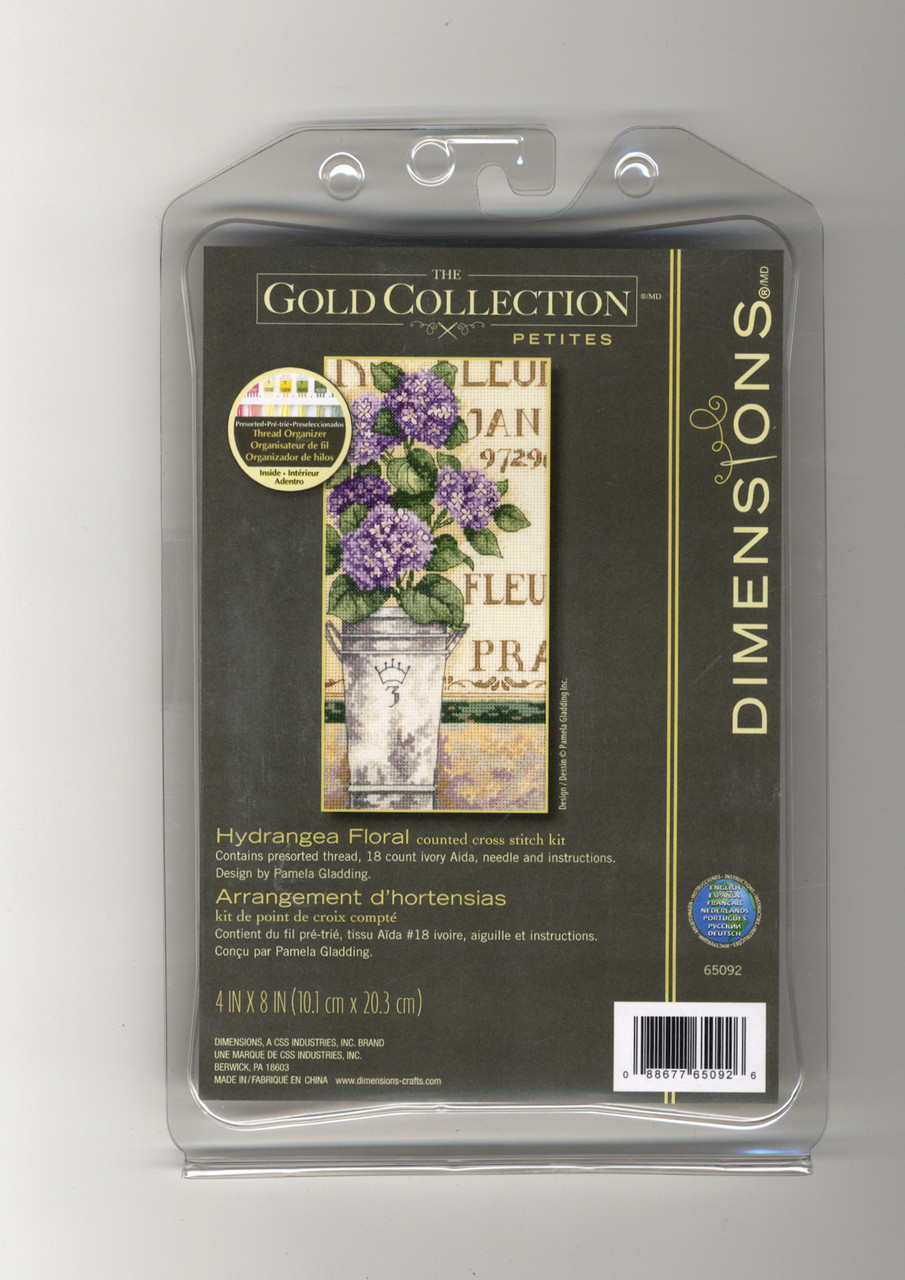 Gold Collection Petites - Hydrangea Floral