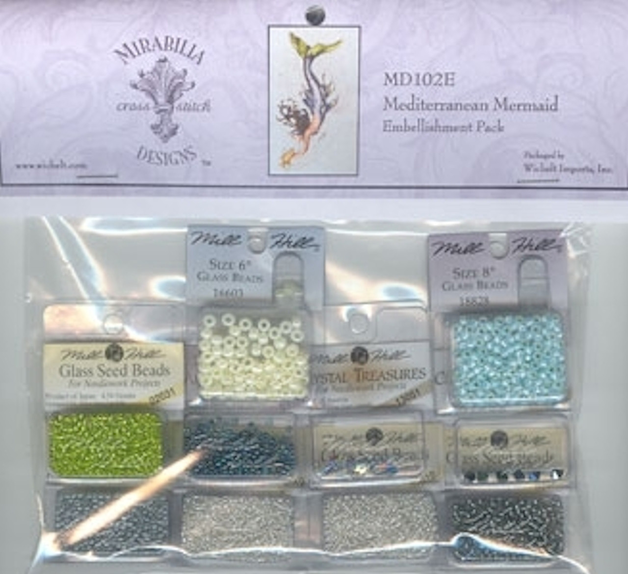 Mirabilia Embellishment Pack  - Mediterranean Mermaid