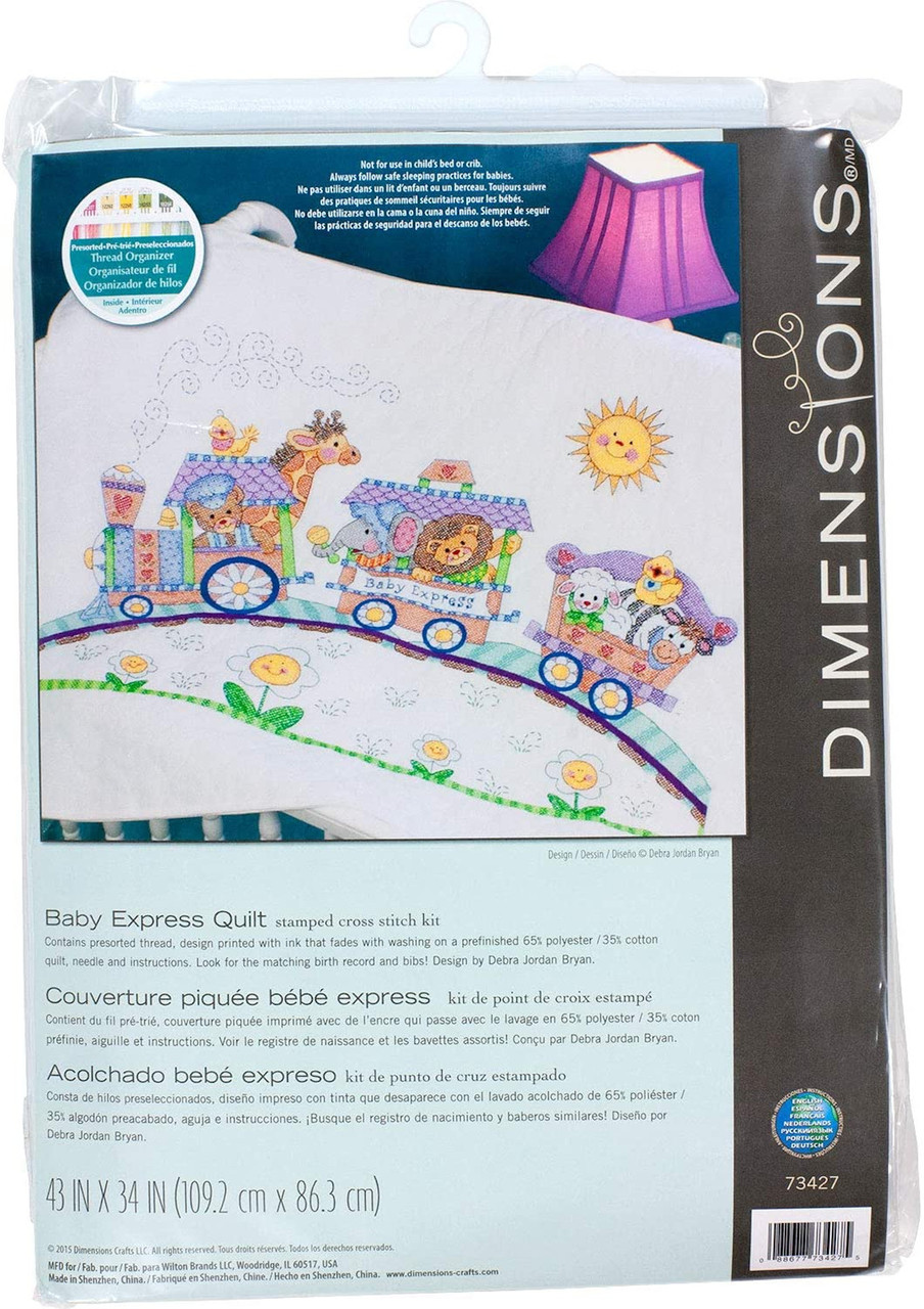 Dimensions Baby Hugs - Baby Express Quilt