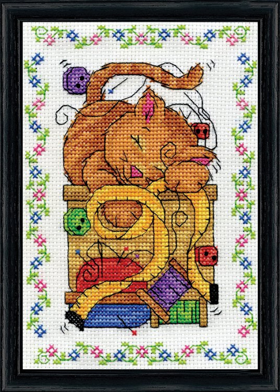 Design Works - Sewing Cat