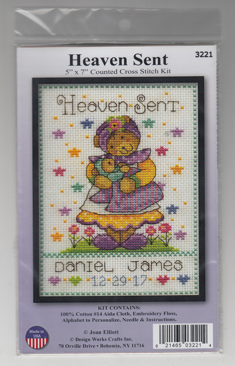 Design Works - Heaven Sent Birth Record