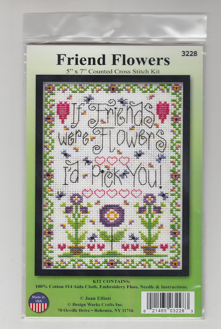 Design Works - Friend Flowers