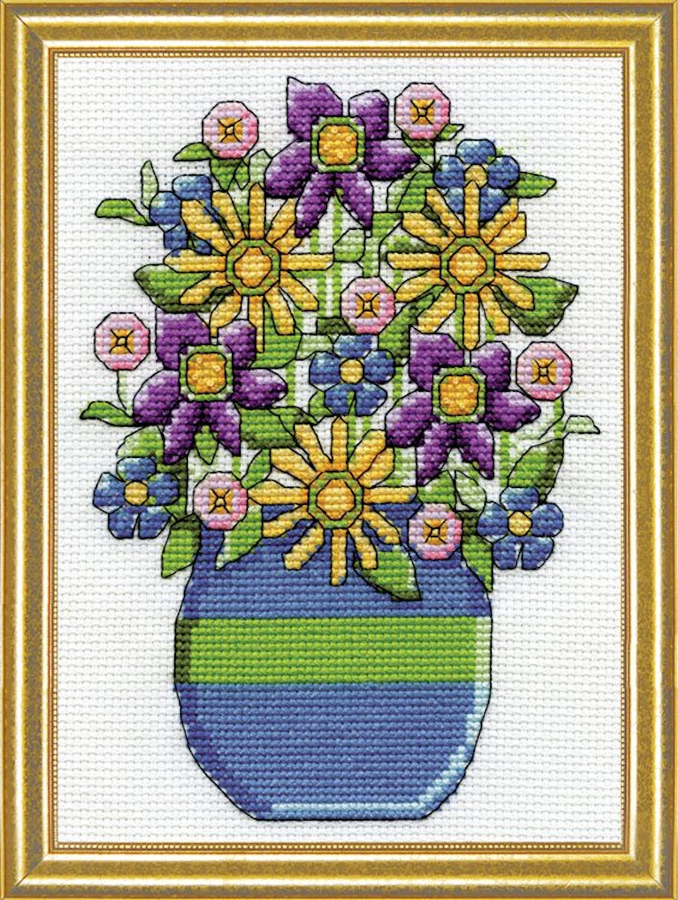 Design Works - Blue Vase